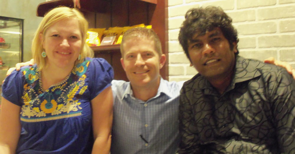 Jackie Koller and Ravi Kandal of Kingdom Foundations
